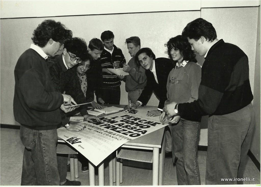 Autogestione Liceo Galilei 1990