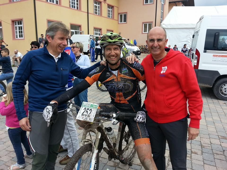 All'arrivo c'erano anche gliamici di Sardinia Mountain Bike