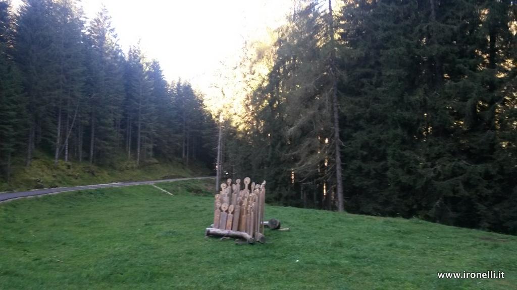 All'ingresso della Val Campelle