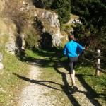 Corsa autunnale sul sentiero dell'immaginario