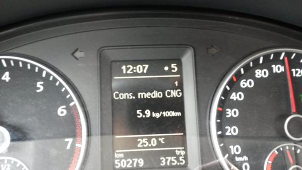 VW Caddy metano 50000 km