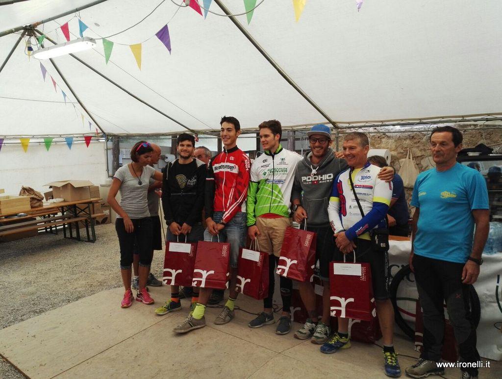 Podio Junior San Giovanni Bike Beber 2°
