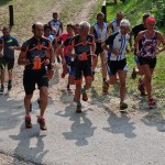 Partenza corsa XC Running Senza Freni