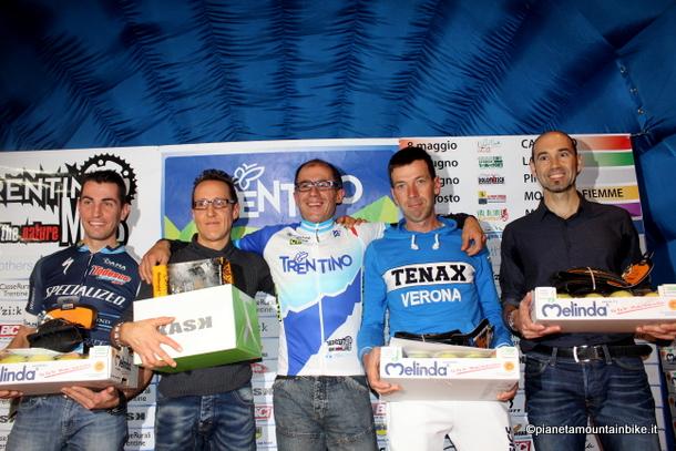 Podio Master 3 Trentino MTB 2015