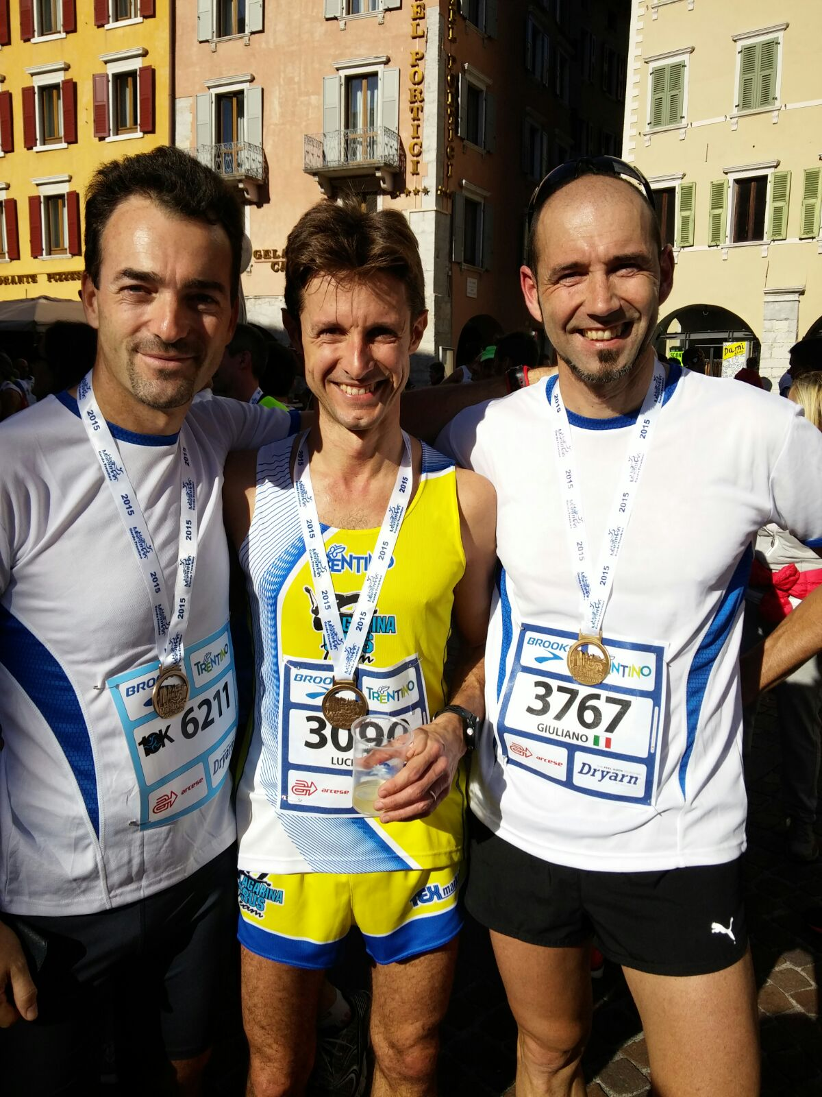 Garda Trentino Half Marathon: Mauro, Lucio ed io