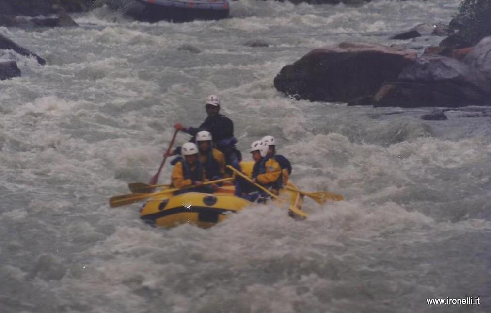 Rafting sul Sarca in Val di Genova - Trentino