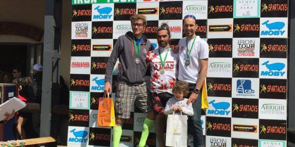 Triathlon Iron Cross Capoliveri:  podio M1