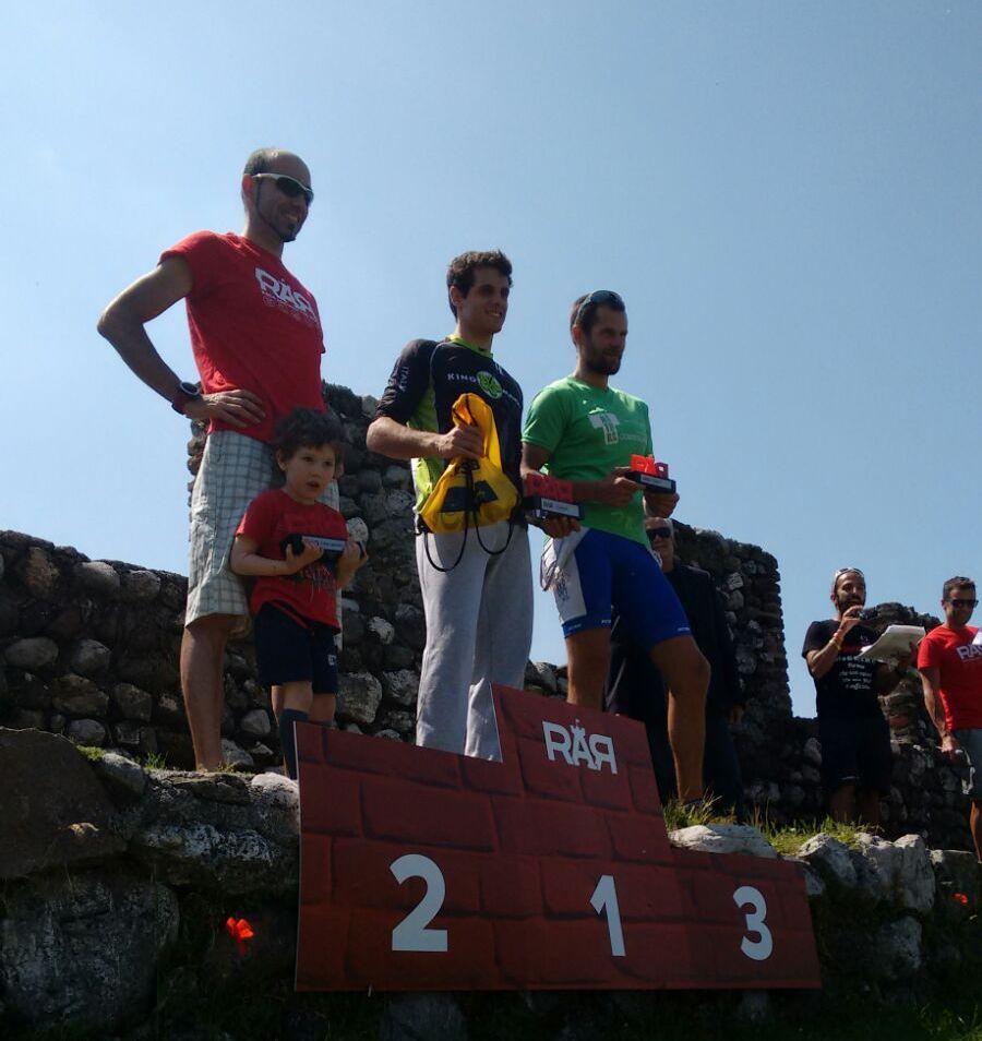 Race around the Rock - podio