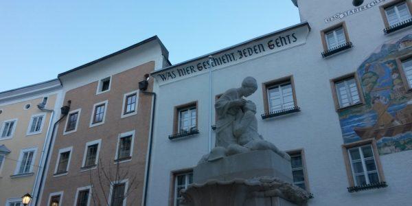 Hallein – il centro