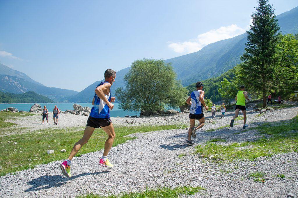 Molveno Lake Running - si scappa dal gruppetto