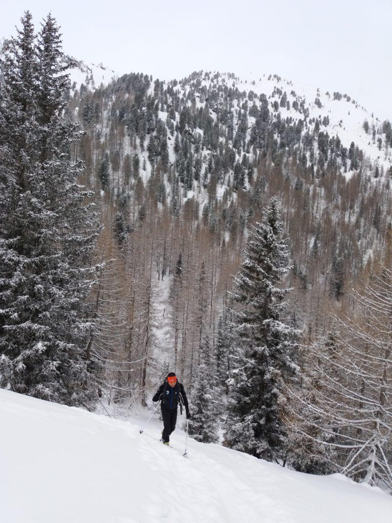 Ambiente invernale a Rio Bianco
