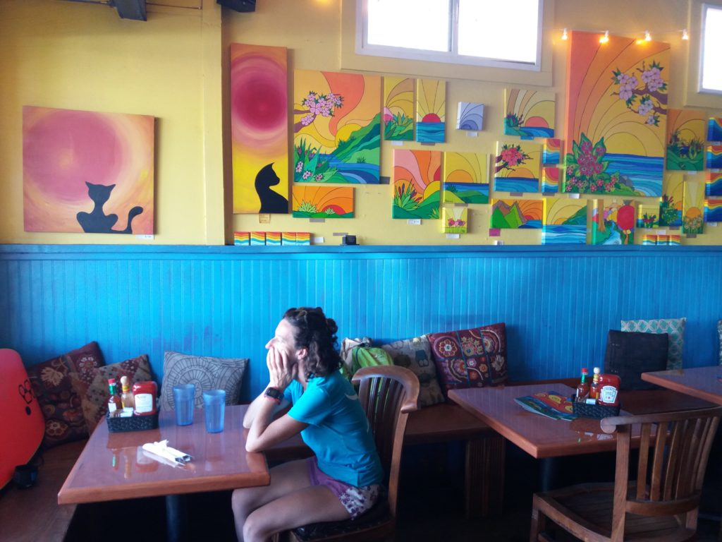 Mambo Café in PAia, MAui: godd fish plates and live music