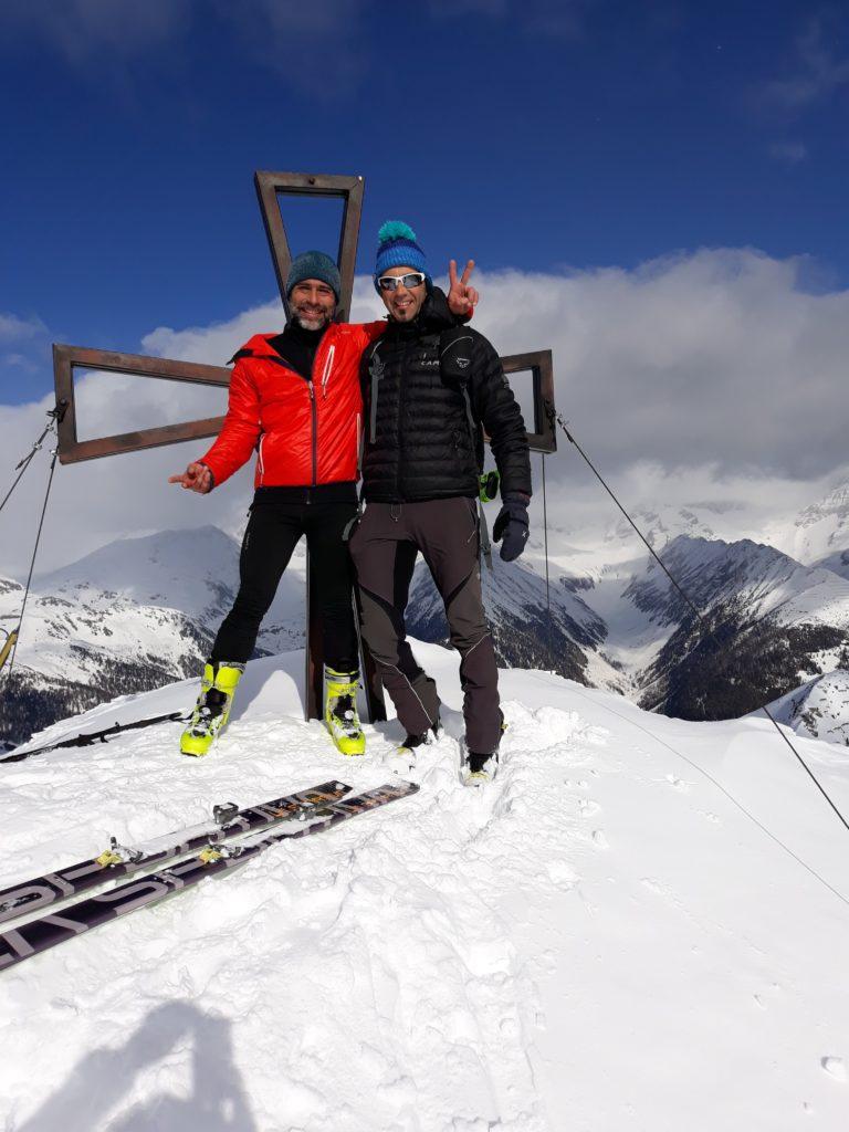 In cima a Speikboden, 2517 metri.