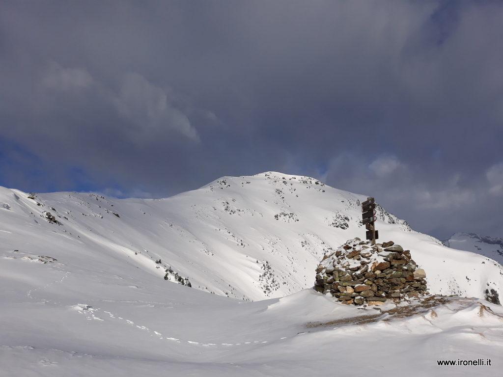La dorsale di Speikboden - Monte Spico . 2517 metri