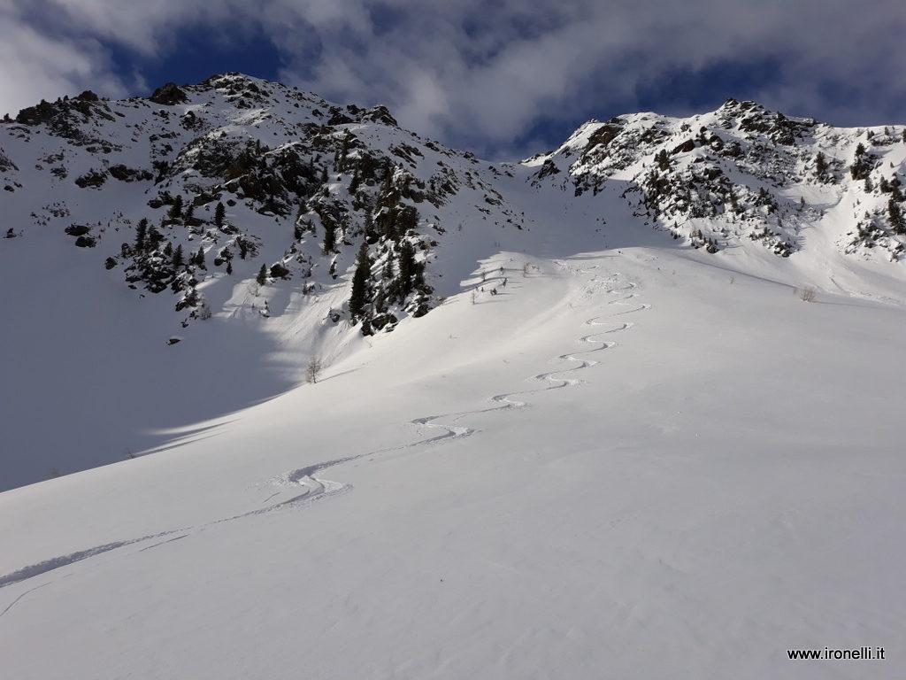 Discesa diretta dalla cima di Speikboden - Monte Spico - 2517 metri