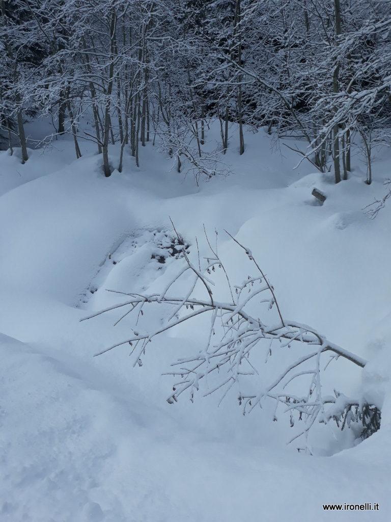 E' tornato l'inverno a Riobianco in val Aurina