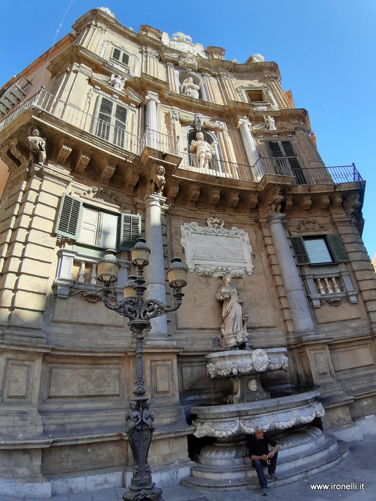 Scorci di Palermo - I 4 canti