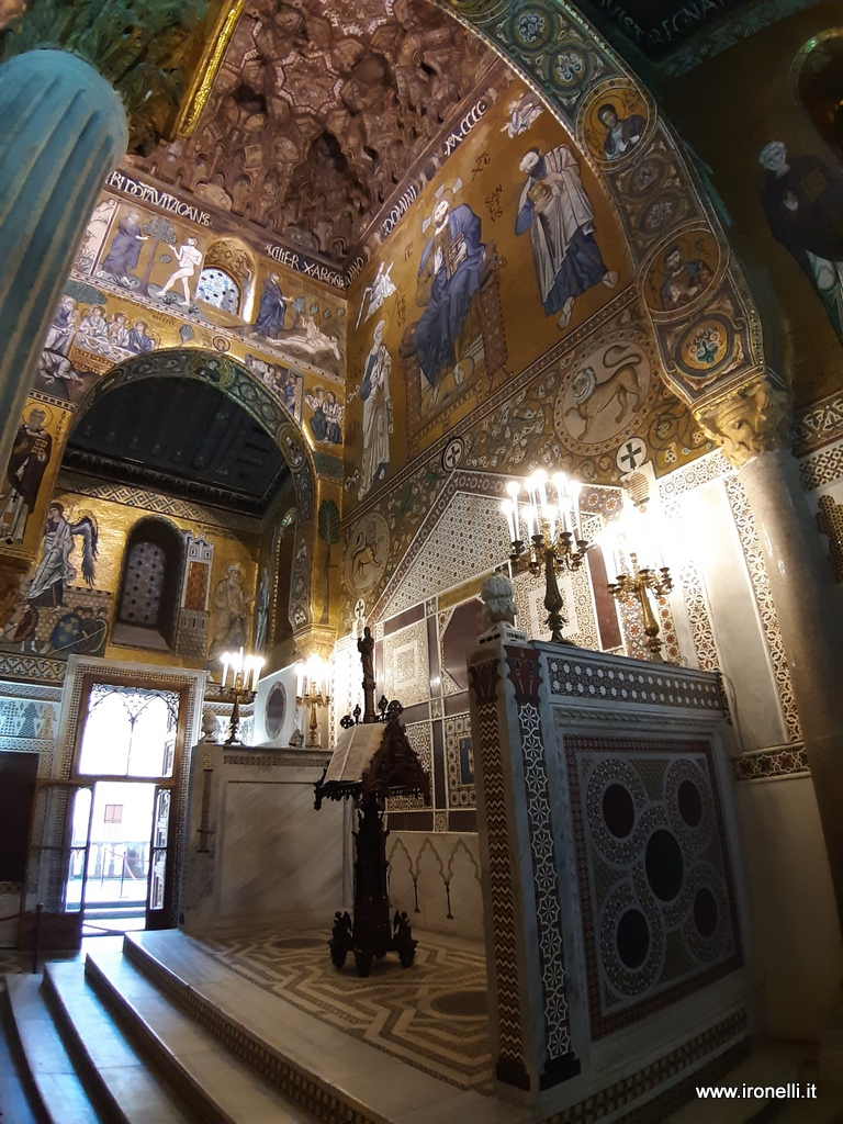 Scorci di Palermo  La Cappella Palatina