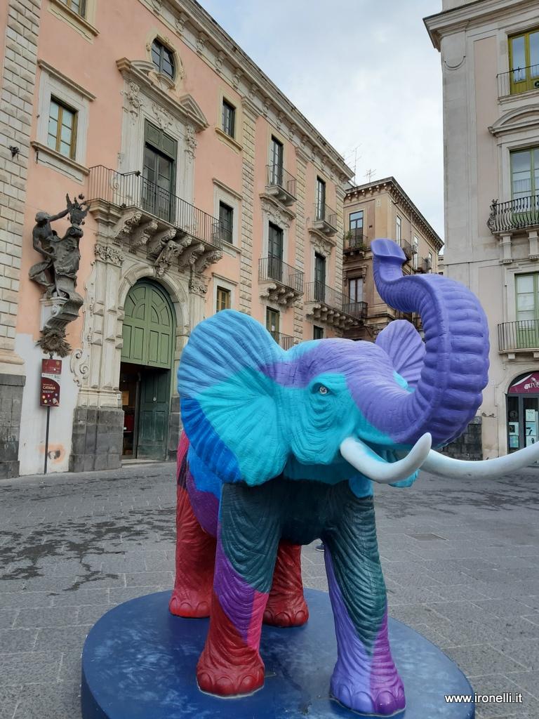 La versione moderna dell'elefantino simbolo di Catania
