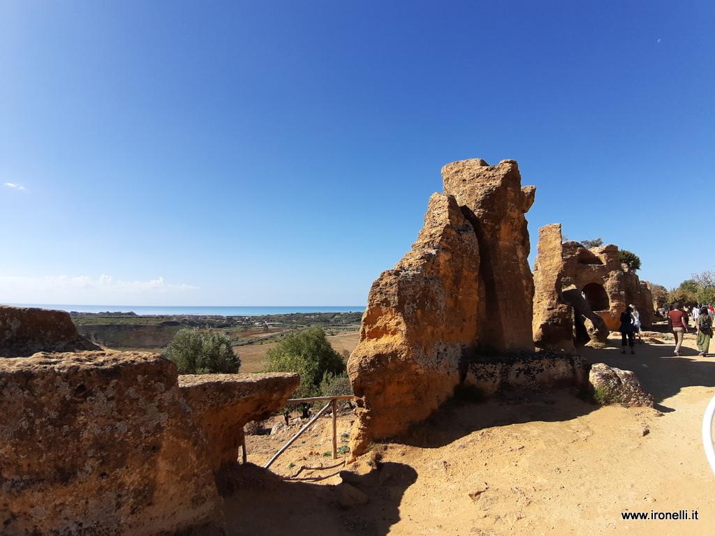 Le mura di Agrigento