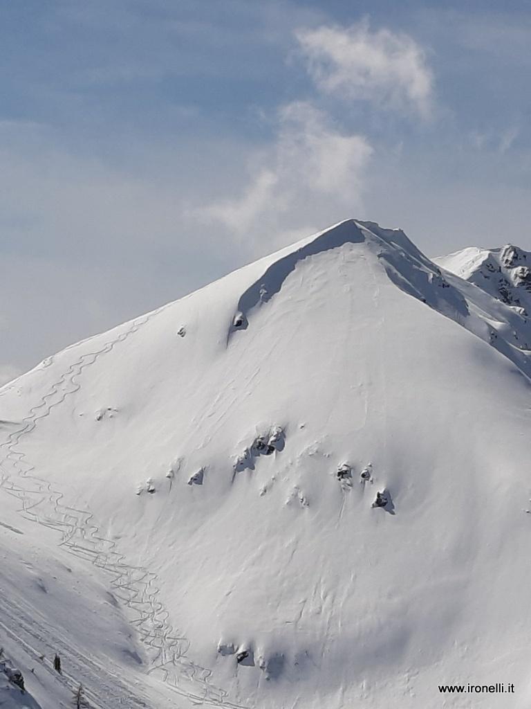 Le nostra tracce sulla Cime delle Lepre Bianche - val dei Mocheni - Trentino